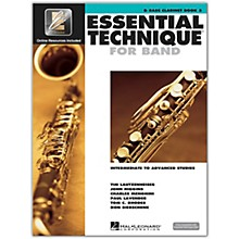 Hal Leonard Essential Technique for Band -  Bb Bass Clarinet 3 Book/Online Audio
