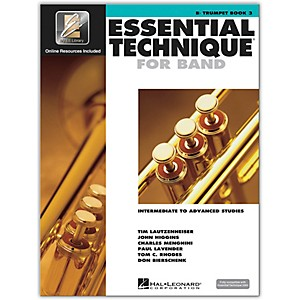 Hal Leonard Essential Technique for Band - Bb Trumpet 3 Book/Online Audio