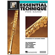 Hal Leonard Essential Technique for Band - Flute 3 Book/Online Audio