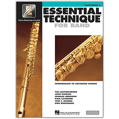 Hal Leonard Essential Technique for Band - Flute (Book 3 with EEi)-thumbnail