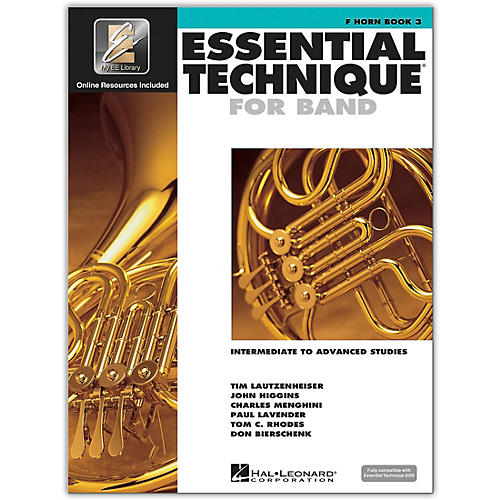 Hal Leonard Essential Technique for Band - French Horn 3 Book/Online Audio 3