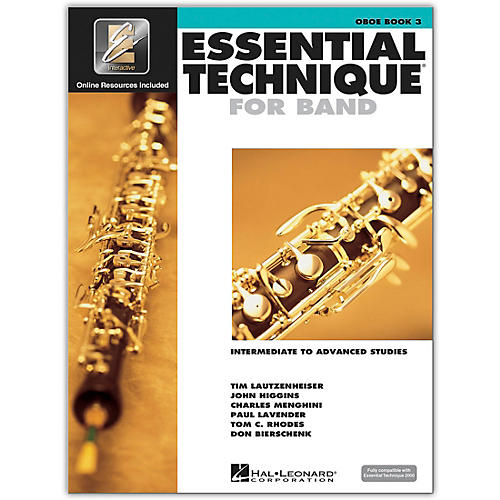 Hal Leonard Essential Technique for Band - Oboe (Book 3 with EEi)-thumbnail