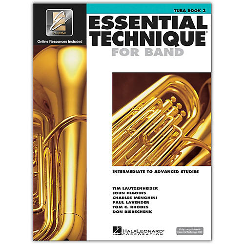 Hal Leonard Essential Technique for Band - Tuba 3 Book/Online Audio-thumbnail