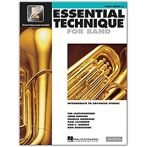 Hal Leonard Essential Technique for Band - Tuba Book 3 with EEi by Hal Leonard