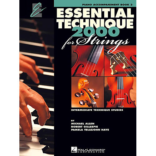 Hal Leonard Essential Technique for Strings - Piano Accompaniment (Book 3)