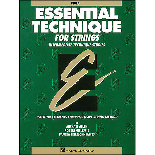 Hal Leonard Essential Technique for Strings Viola