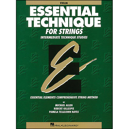 Hal Leonard Essential Technique for Strings Violin-thumbnail