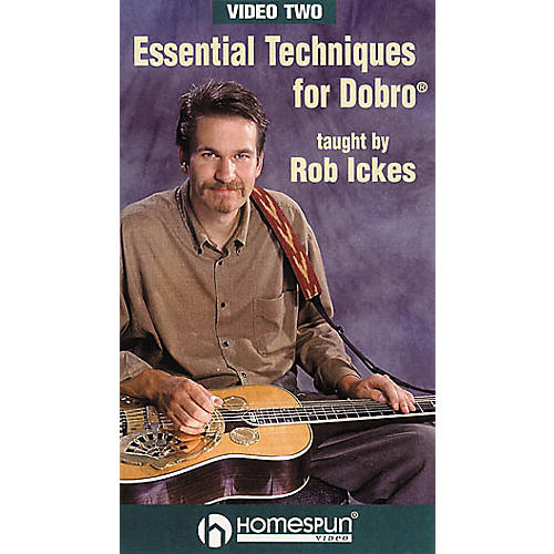 Homespun Essential Techniques for Dobro 2 (VHS)-thumbnail