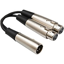 Livewire Essential Y-Adapter XLR Male to XLR Female