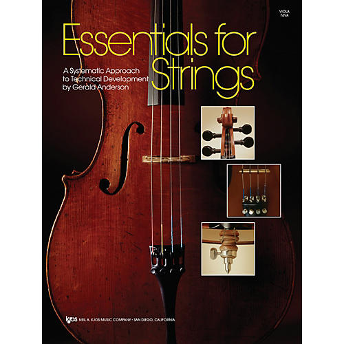 KJOS Essentials For Strings Viola