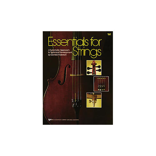 KJOS Essentials for Strings Violin Book-thumbnail