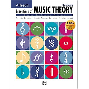 Alfred Essentials of Music Theory: Complete Book/CD by Alfred