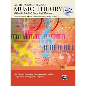 Alfred Essentials of Music Theory: Complete Self-Study Course Book/2-CD by Alfred