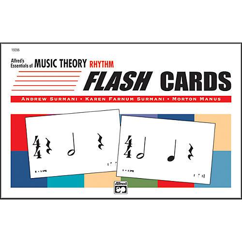 Alfred Essentials of Music Theory: Flash Cards Rhythm