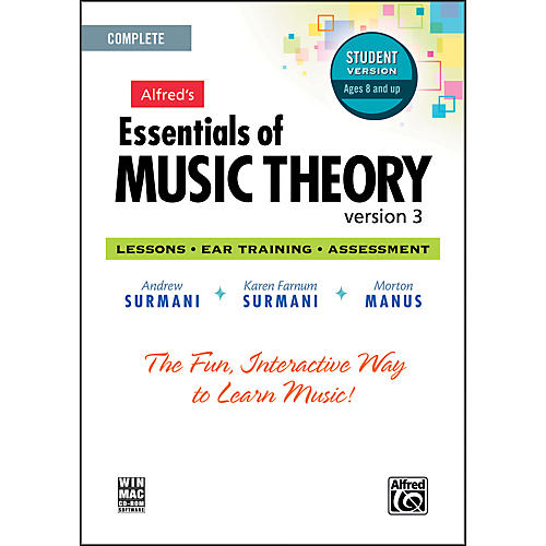 Alfred Essentials of Music Theory: Version 3 CD-ROM Student Version Complete-thumbnail