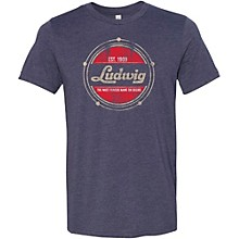 Ludwig Established Heathered Navy T-Shirt