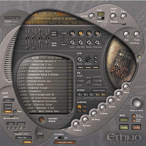 MOTU Ethno World Sound Virtual Instrument