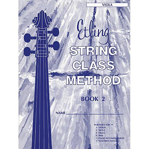 Alfred Etling String Class Method Book 2 Viola-thumbnail