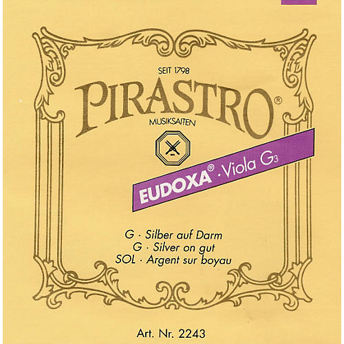 Pirastro Eudoxa Series Viola G String 4/4 - 16-1/4 Gauge