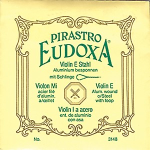 Pirastro Eudoxa Series Violin String Set by Pirastro