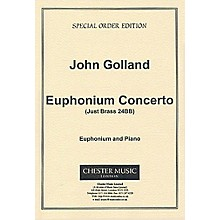Chester Music Euphonium Concerto (Euphonium with Piano Reduction) Music Sales America Series