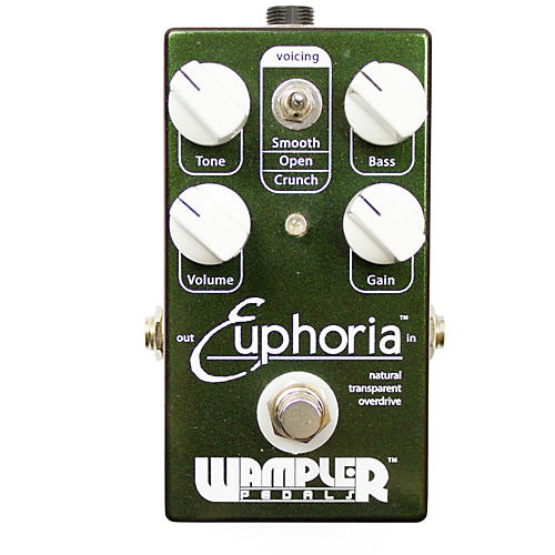 Wampler Euphoria Overdrive Guitar Effects Pedal