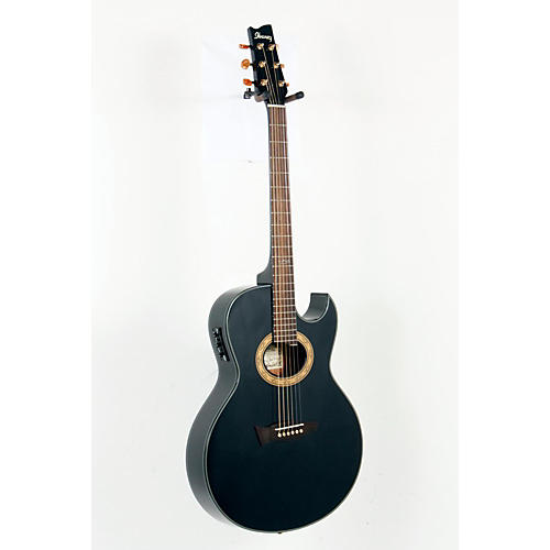 Ibanez Euphoria Steve Vai Signature Acoustic-Electric Guitar High Gloss Black Pearl 888365158044