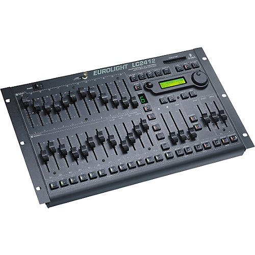 Behringer Eurolight LC2412 24-Channel DMX Lighting Console-thumbnail