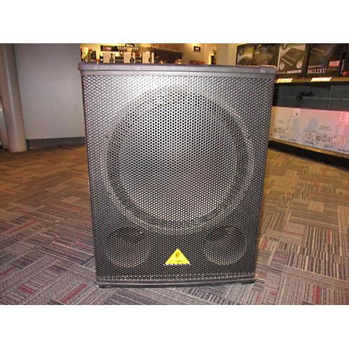 Behringer Eurolive B1800x Pro 1600 Watt PA Subwoofer Unpowered Speaker-thumbnail