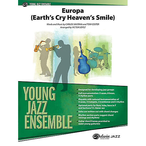 Alfred Europa (Earth's Cry Heaven's Smile) Jazz Band Grade 2 Set