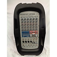 Behringer Europort EPA900 Portable PA System Sound Package