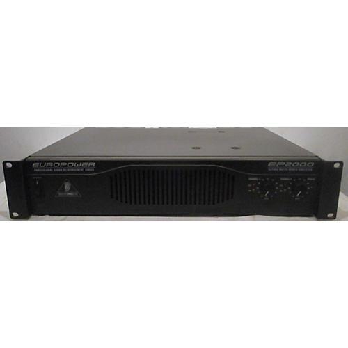 Behringer Europower EP2000 Power Amp
