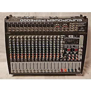 Pre-owned Behringer Europower Pmp6000 Powered Mixer by Behringer