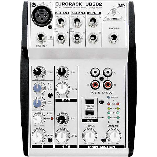 Behringer Eurorack UB502 5-Channel Compact Mixer-thumbnail
