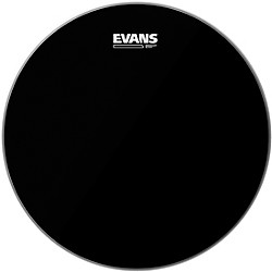 Evans Resonant Black Tom Drumhead (TT12RBG)