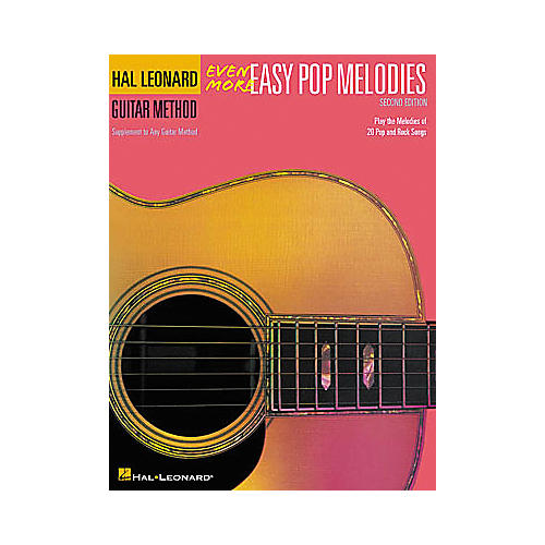 Hal Leonard Even More Easy Pop Melodies - 2nd Edition Book-thumbnail