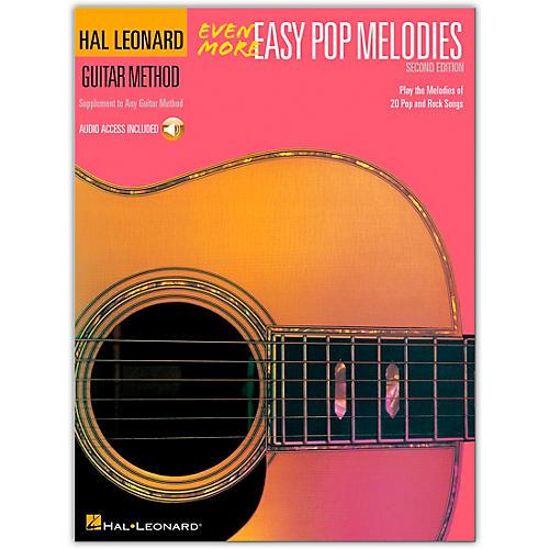 Hal Leonard Even More Easy Pop Melodies Guitar Method (Book/CD)
