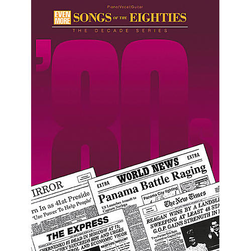 Hal Leonard Even More Songs of the Eighties Piano/Vocal/Guitar Songbook-thumbnail