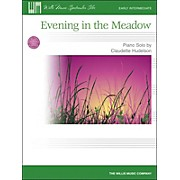 Willis Music Evening In The Meadow - Early Intermediate Piano Solo by Claudette Hudelson
