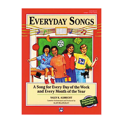 Alfred Everyday Songs Soundtrax (Cassette)