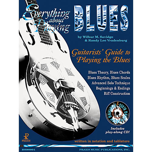 Music Sales Everything About Playing Blues (Book/CD)-thumbnail