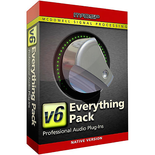 McDSP Everything Pack Native v6 (Software Download)-thumbnail