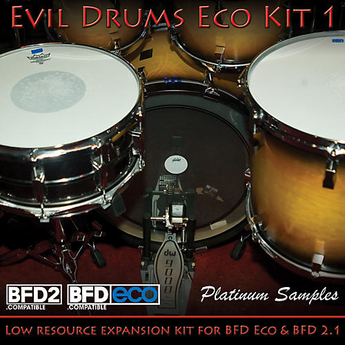 Platinum Samples Evil Drums Eco Kit 1 for BFD