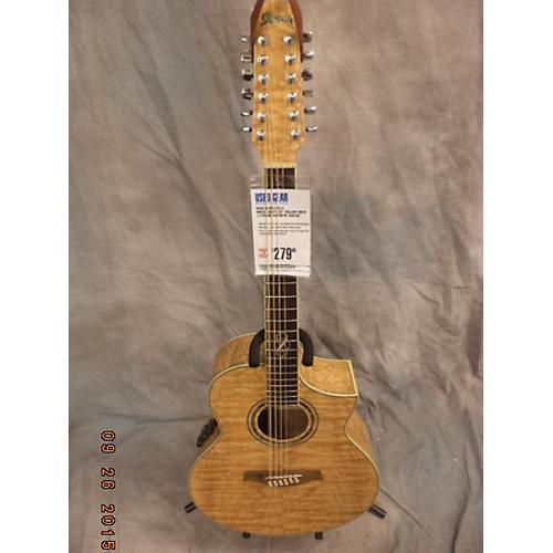 Ibanez Ew2012sent1201 Yellow Tiger 12 String Acoustic Guitar-thumbnail