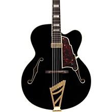 D'Angelico Excel EXL-1 Hollowbody Electric Guitar Level 1 Black Tortoise Pickguard