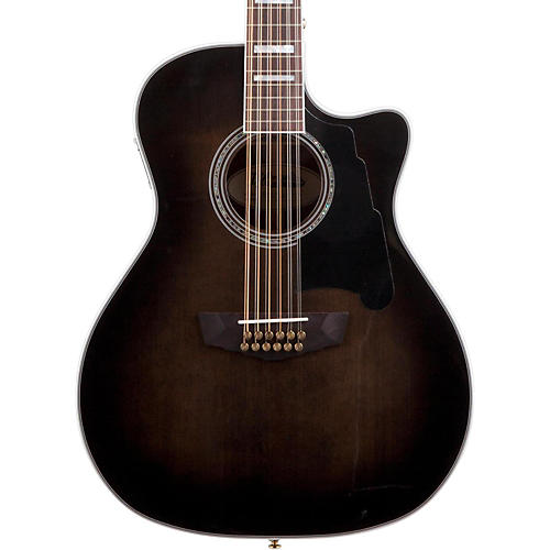 D'Angelico Excel Fulton 12 String Acoustic Electric Guitar-thumbnail