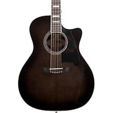 Excel Gramercy Acoustic-Electric Guitar Grey Black