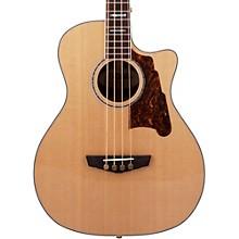 D'Angelico Excel Mott Acoustic Bass Guitar Level 1 Natural