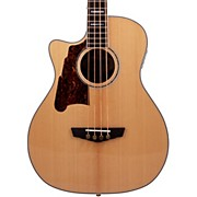 D'Angelico Excel Mott Left Handed Acoustic Bass Guitar