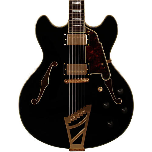 D'Angelico Excel Series DC Semi-Hollowbody Electric Guitar with Stairstep Tailpiece-thumbnail